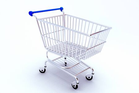 Shopping Push Cart Stock Photo - 13700621