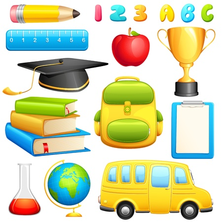 Education Object Stock Vector - 13874364