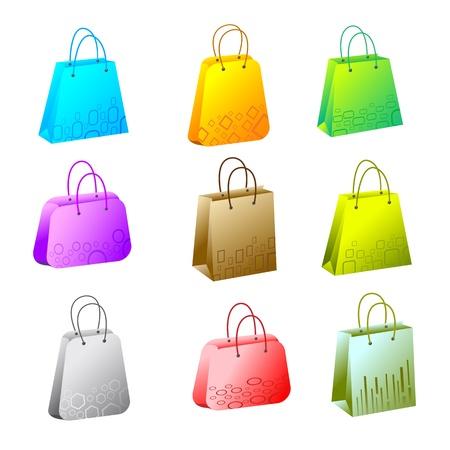 Shopping Bag Stock Vector - 13874320