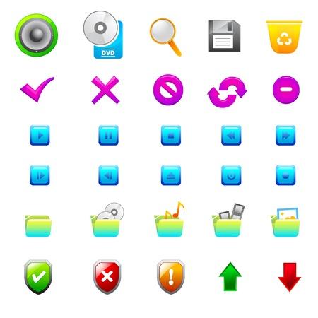 Vector Application Icon Stock Vector - 13874324