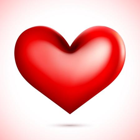 love target: Vector Heart