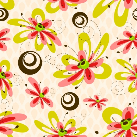 Flower Pattern Stock Vector - 13874316