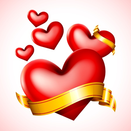 Love in Air Stock Vector - 13874327