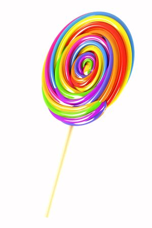 Colorful Candy Lolly Stock Photo - 13874361