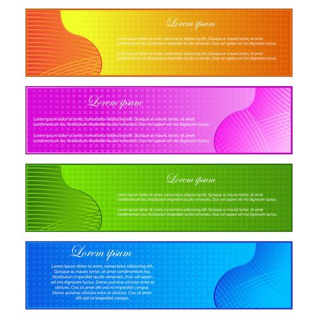 Colorful Banner Stock Vector - 13905094