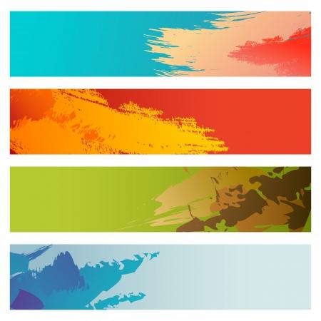 grungy header: Grunge Banner