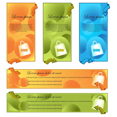 Promotional Template Stock Vector - 13904981