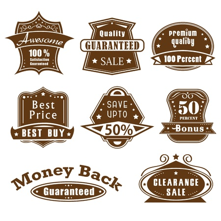 Premium Quality Label Stock Vector - 13904978
