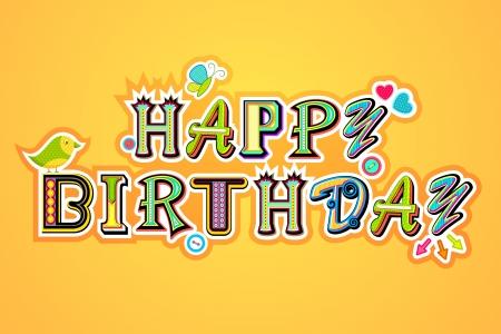 Happy Birthday Stock Vector - 13955587