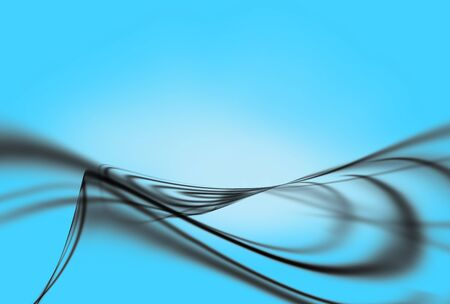 Abstract Wavy Background photo