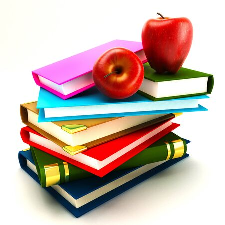 Pile of Book Stock Photo - 14315413