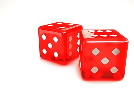 Pair of Dice Stock Photo - 14315286
