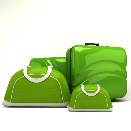 luggage airport: Travel Bag Stock Photo