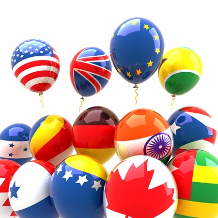 Country Balloon Stock Photo - 14315415