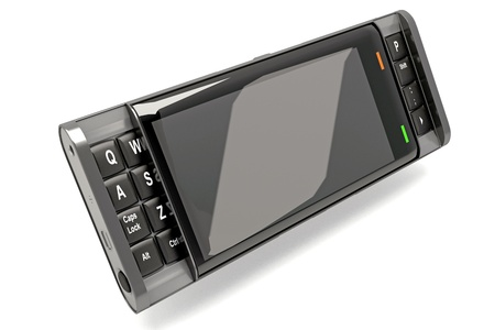 dialing: Smart Phone Stock Photo