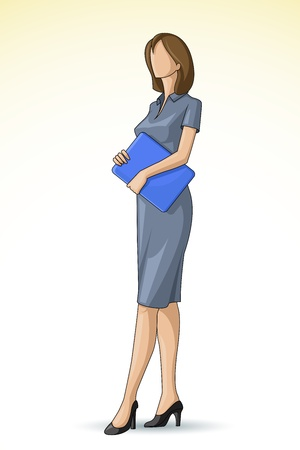 Corporate Woman Vector