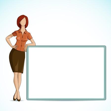 young professional: Empresas Se�ora Vectores
