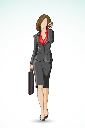 Business Woman Stock Vector - 14315233