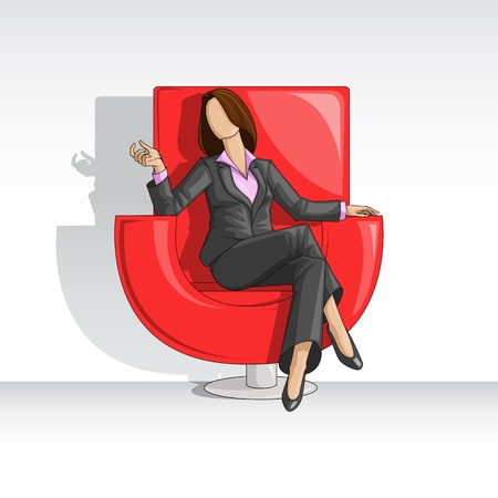 Business Woman Stock Vector - 14315243