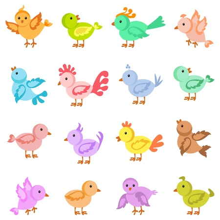 Colorful Bird Stock Vector - 14315223