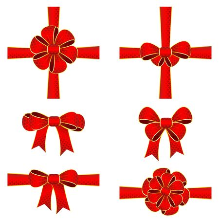 Colorful Ribbon Bow Stock Vector - 14504814