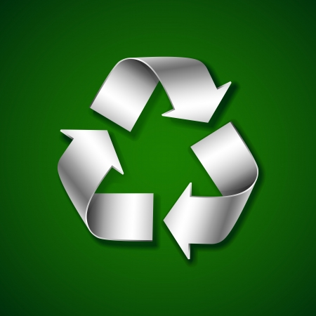 Recycle Symbol Stock Vector - 14504705