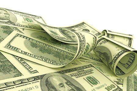 hamilton: US Dollars notes Stock Photo