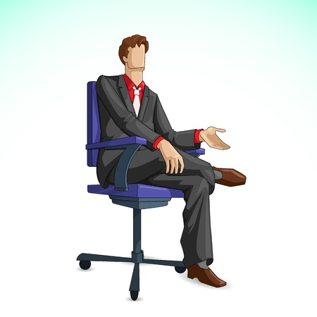 Business Executive Vector