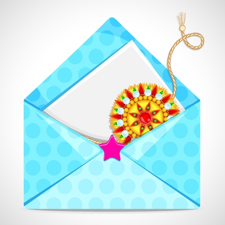 Raksha Bandhan in Envelope Vector