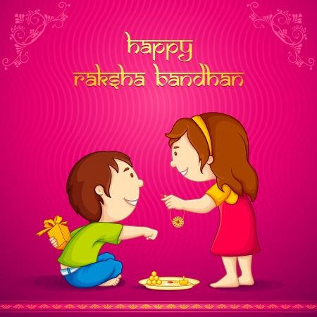 tied girl: Raksha Bandhan