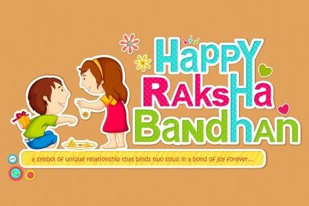 Raksha Bandhan Stock Vector - 14504798