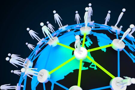 Social Networking Stock Photo - 14588968