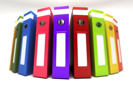 Colorful Box Folder Stock Photo - 14588970