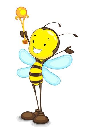 Winner Bee Vector