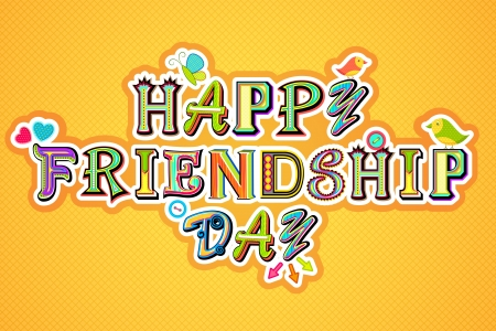 Happy Friendship Day Stock Vector - 14668864