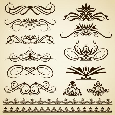 Vintage Calligraphic Design