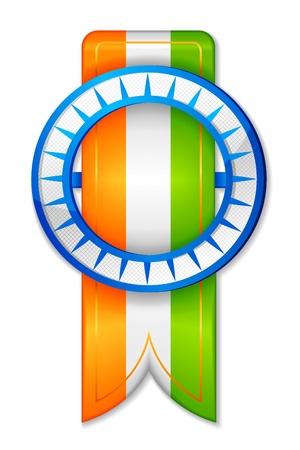 saffron: Indian Freedom Ribbon