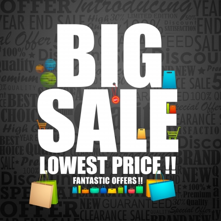 Big Sale Stock Vector - 14668862