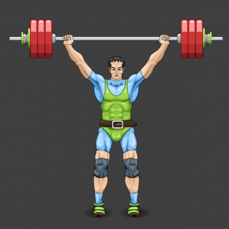 Man Weightlifter