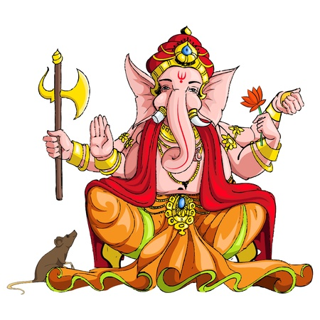 lord: Seigneur Ganesha Illustration