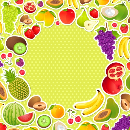 frutoso: Fundo frutado