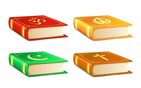 sikh: Holy Book Illustration
