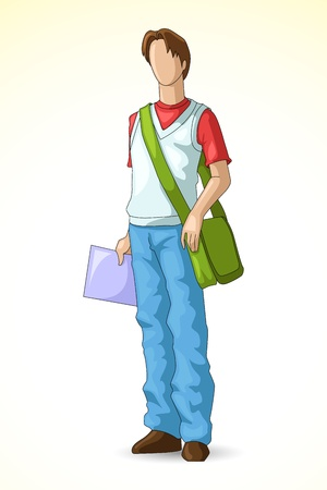 college class: Male Student
