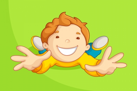 Playing Kid Stock Vector - 14892376