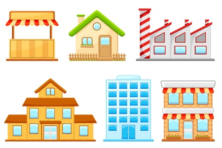 Building Icon Stock Vector - 14892382