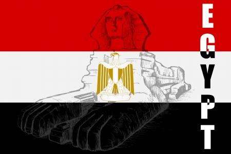 sphinx: La Grande Sfinge Vettoriali