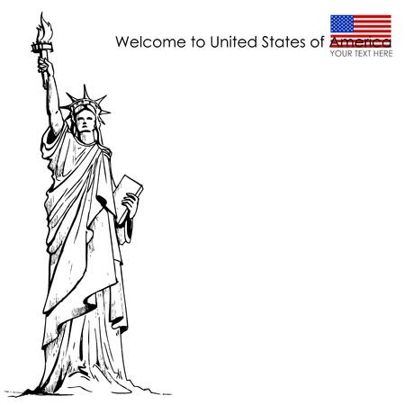 liberty: Statue of Liberty Illustration