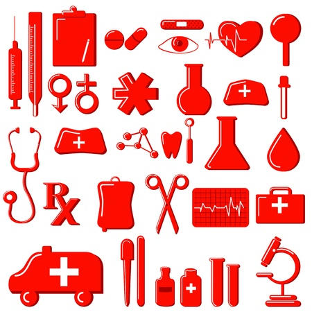 Medical Icon Stock Vector - 14892409