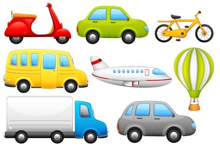 doprava: Dopravní prostředky Reklamní fotografie
