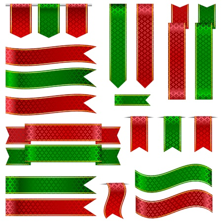 Colorful Ribbon Banner Stock Vector - 14892455